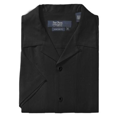 Nat Nast Ready or Knot Silk Camp Shirt - Short Sleeve (For Men)