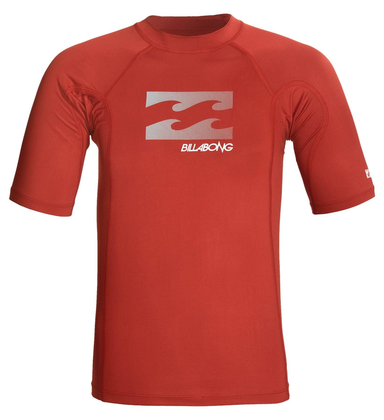 Billabong Shelter Rash Guard Shirt For Men 4711j Save 50