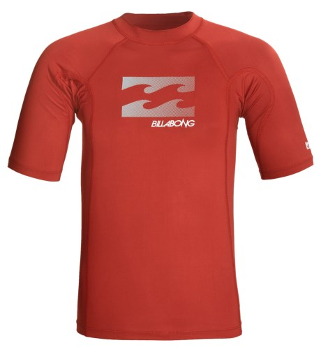 Billabong Shelter Rash Guard Shirt - UPF 50, Short Sleeve (For Men)