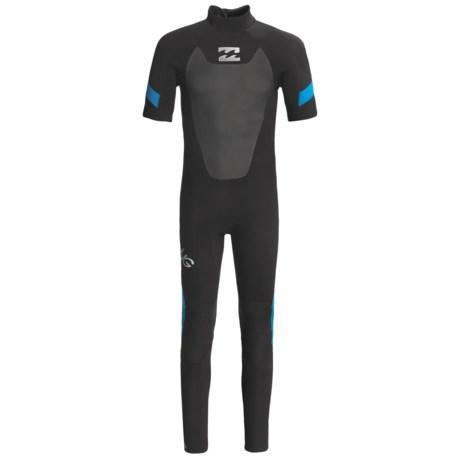 Billabong 202 Foil Wetsuit - 2mm, Short Sleeve (For Men)