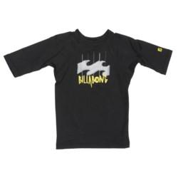 Billabong Creature Rash Guard Shirt - UPF 50, Short Sleeve (For Little Kids)