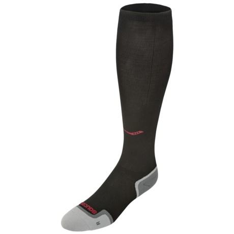 Saucony Elite Compression Socks - Lightweight, Crew (For Men and Women)