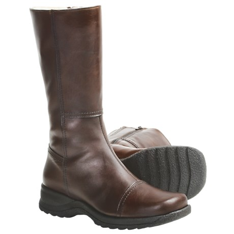 La Canadienne Avalon Winter Boots - Leather, Wool-Lined (For Women)