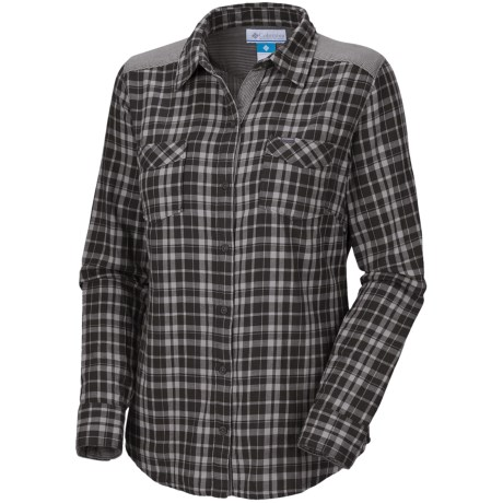 Columbia Sportswear Savvy Summit Shirt - Doubleweave Cotton, Long Sleeve (For Plus Size Women)