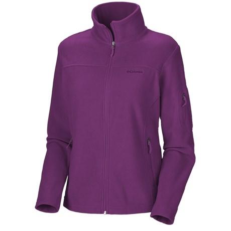 Columbia Sportswear Fast Trek II Fleece Jacket (For Plus Size Women)