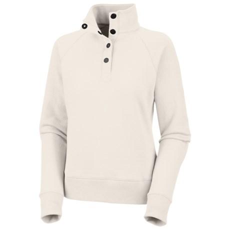 Columbia Sportswear Hart Mountain Fleece Top - Snap-Button Neck (For Women)