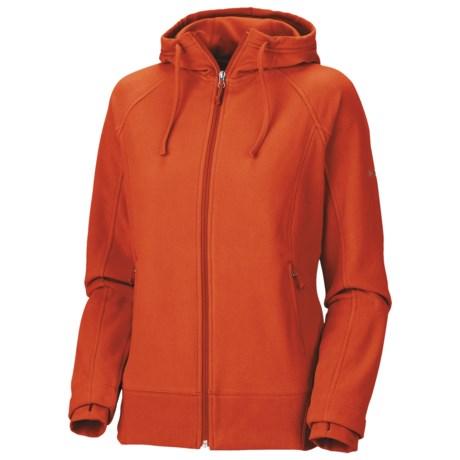 Columbia Sportswear Fast Trek Fleece Hoodie - Full Zip (For Women)