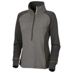 Columbia Sportswear Heather Honey Top - Zip Neck, Long Sleeve (For Women)