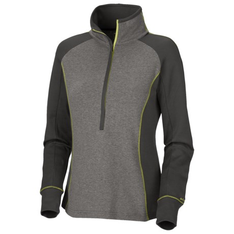 Columbia Sportswear Heather Honey Top - Zip Neck, Long Sleeve (For Women)