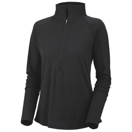 Columbia Sportswear Anytime Shirt - UPF 50, Zip Neck, Long Sleeve (For Women)