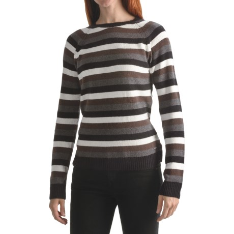 Columbia Sportswear Behind the Lines Sweater - Angora, Long Sleeve, Crew Neck (For Women)