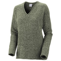Columbia Sportswear Nubby Nouveau Sweater - V-Neck, Rib-Knit Trim (For Women)