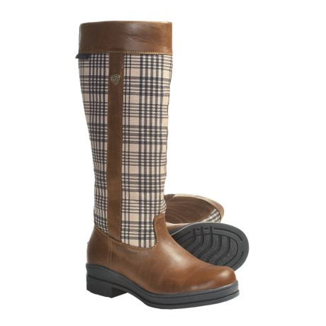 Ariat Windermer Baker Equestrian Boots - Waterproof, Composite Safety Toe (For Women)