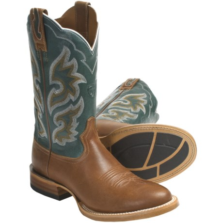 Ariat Cyclone Cowboy Boots - Leather, W-Toe (For Men)