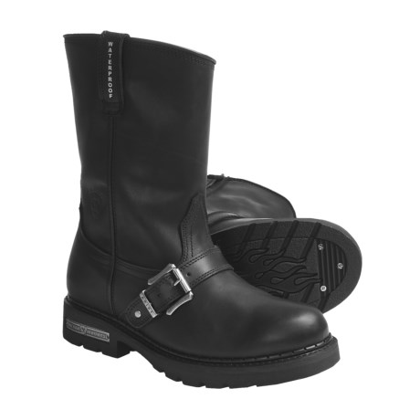 Ariat Alloy Motorcycle Boots - Waterproof, Leather (For Men)