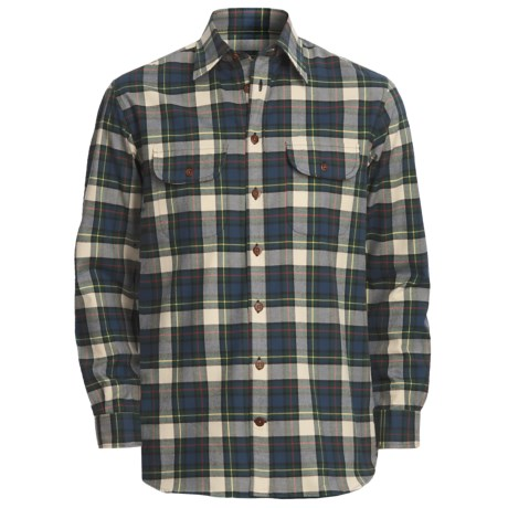 J.L. Powell Wapiti Work Shirt - Cotton-Wool, Long Sleeve (For Men)