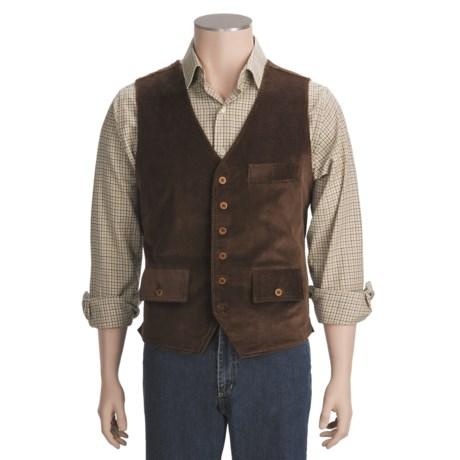 J.L. Powell Corduroy Vest (For Men)