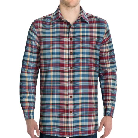 J.L. Powell Gallatin Shirt - Brushed Cotton, Long Sleeve (For Men)