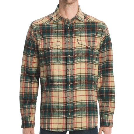J.L. Powell The Gaucho Shirt - Flannel, Long Sleeve (For Men)