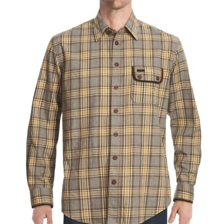 J. L. Powell J.L. Powell The Flathead Shirt - Cotton-Wool, Long Sleeve (For Men)