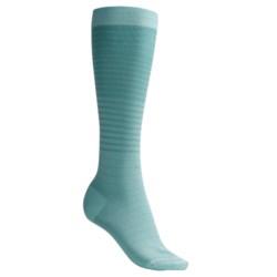 Pantherella Fancy Striped Socks - Knee-High (For Women)