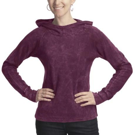 Ojai Thermal Hoodie Shirt - Long Sleeve (For Women)