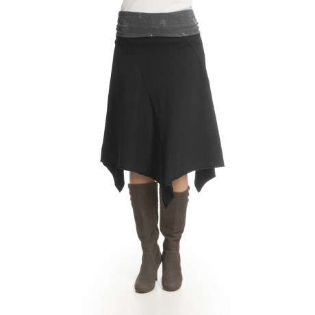 Ojai Jagged Edge 2 Boot Skirt - Stretch Cotton (For Women)