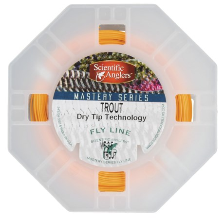 Scientific Anglers Mastery Series Trout Dry Tip Fly Line - Weight Forward, Floating, 3-5wt