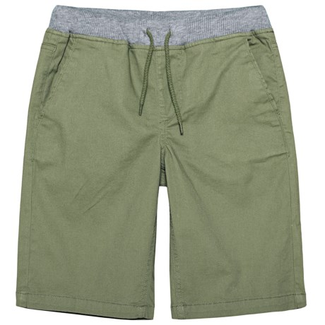 P.S. from Aeropostale Stretch Twill Shorts (For Big Boys)