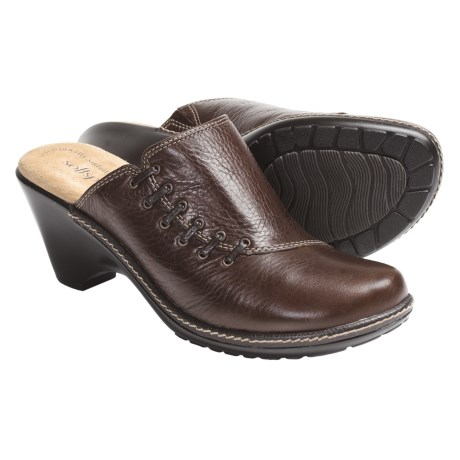 Softspots Leonora Leather Clogs (For Women)