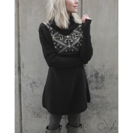 CoVelo Inuit Wool Dress - Long Sleeve (For Women)