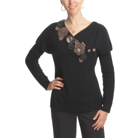 CoVelo Osaka Luxe Cardigan Sweater (For Women)