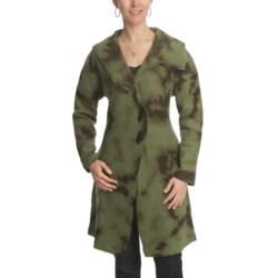 CoVelo Lia Boiled Wool Coat (For Women)