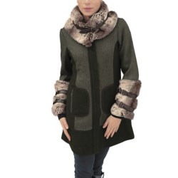 CoVelo Antarctica Coat - Faux-Fur Trim (For Women)