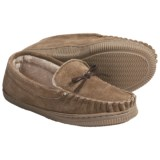 LAMO Footwear Lamo Moccasin Slippers - Suede, Fleece-Lined (For Youth Boys and Girls)