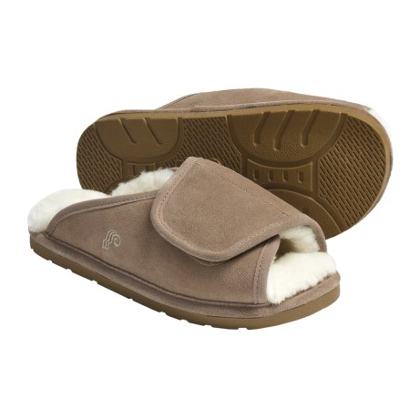 Lamo Wrap Slippers - Suede, Sheepskin-Lined (For Women)
