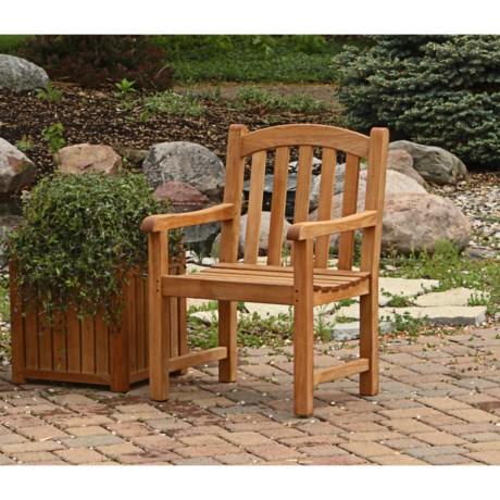 Three Birds Casual Victoria Garden Arm Chair - Premium Teak
