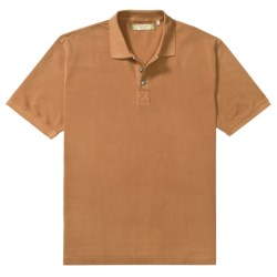 True Grit Polo Shirt - Cotton Jersey Pique, Short Sleeve (For Men)