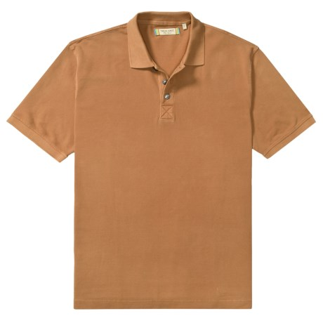 True Grit Polo Shirt - Cotton Jersey Pique, Short Sleeve (For Men)