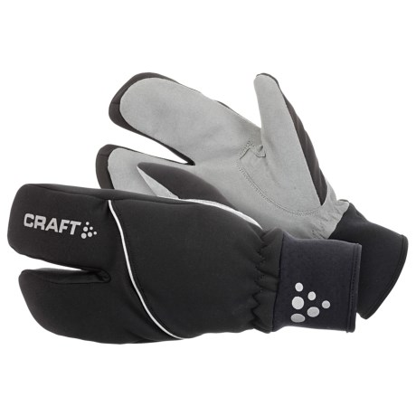 Craft of Sweden XC Split-Finger Ski Gloves - Insulated (For Men and Women)