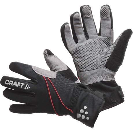Craft of Sweden Siberian Cycling Gloves (For Men and Women)
