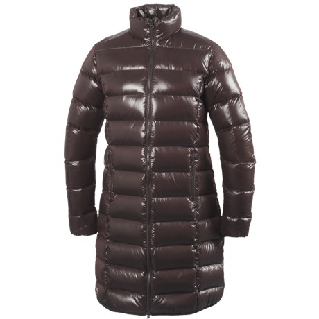 66 North 66° North Laugavegur Long Down Coat - 550 Fill Power (For Women)