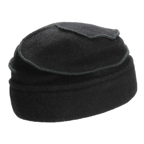 Asian Eye Mia Contrast Swirl Cap - Wool (For Women)