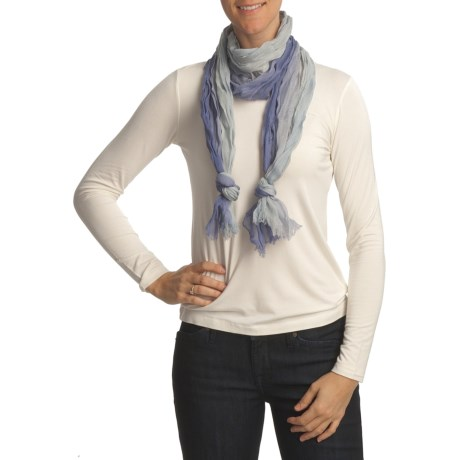 Asian Eye Whisper Wool Ombre Scarf (For Women)