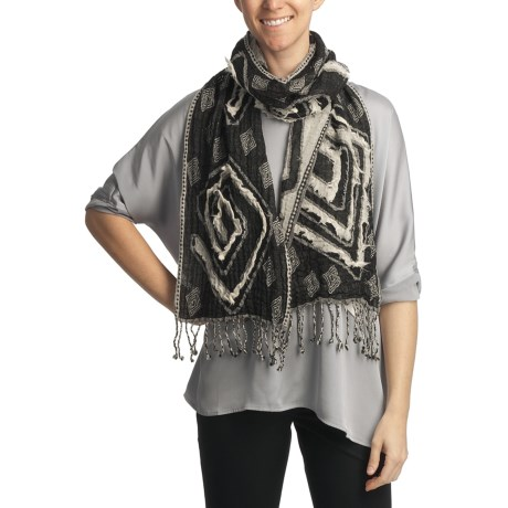 Asian Eye Lucy Scarf - Wool, Reversible (For Women)