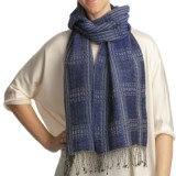Asian Eye Kerouac Scarf - Wool, Reversible (For Women)