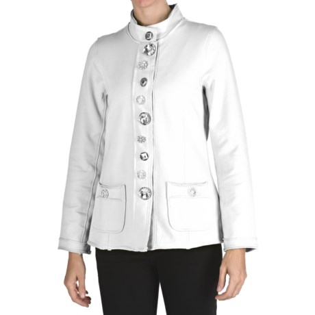 Neon Buddha Crossroads Jacket - French Terry (For Women)
