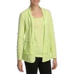 Neon Buddha Funky Patchwork Cardigan Sweater (For Women)