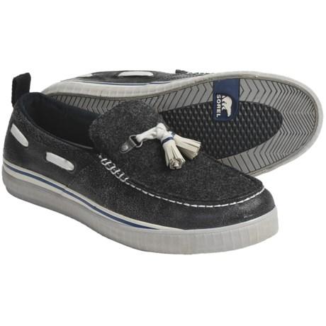 Sorel Sentry Tassel Shoes - Felt, Slip-Ons (For Men)