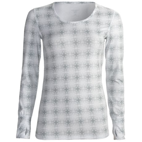 Terramar Thermolator Cloud Nine Base Layer Top - UPF 25+, Scoop Neck, Long Sleeve (For Women)